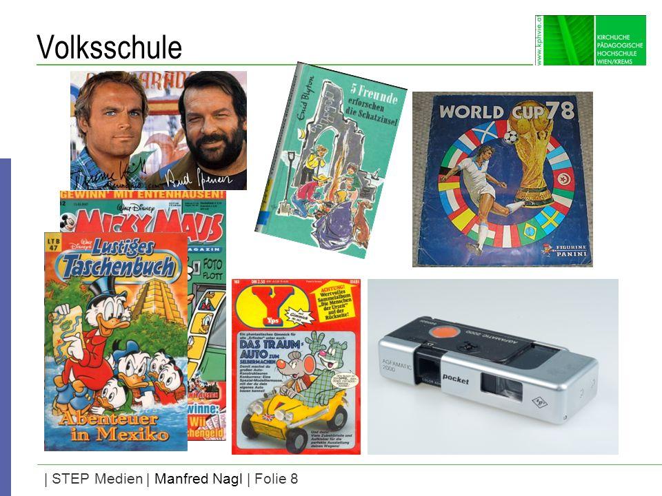 | STEP Medien | Manfred Nagl | Folie 8 Volksschule