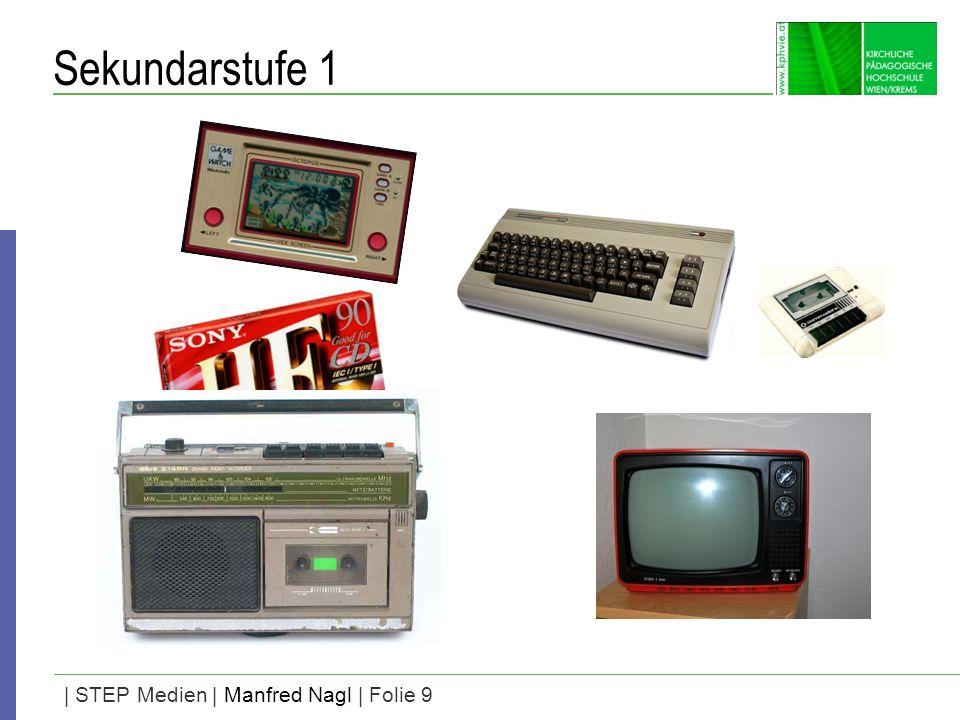 | STEP Medien | Manfred Nagl | Folie 9 Sekundarstufe 1