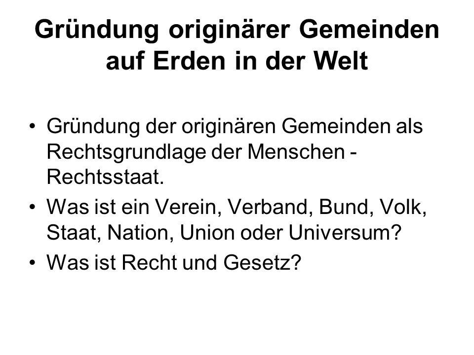 Generation nach Völkerrecht Ein Volk hat stets das Recht, seine Verfassung zu überprüfen, zu reformieren und zu ändern.