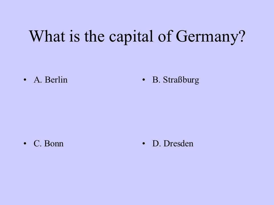 Which is not part of Germany? A: HessenB: Sachsen C: ElsassD: Thüringen