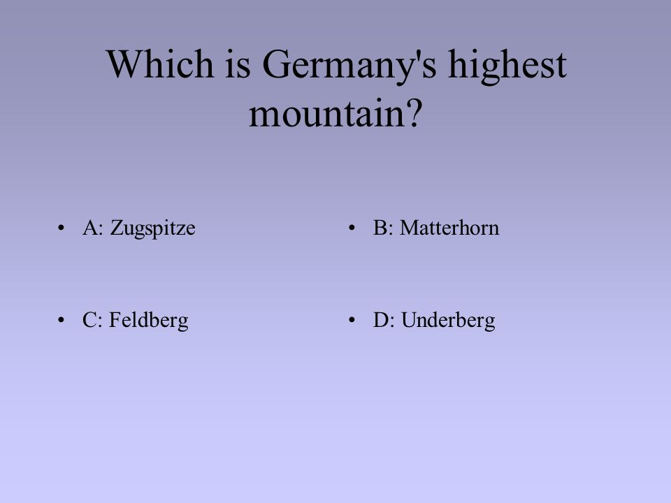 Which country does not share a border with Germany? A: Belgium B: Italy C: DenmarkD: Czech Republic