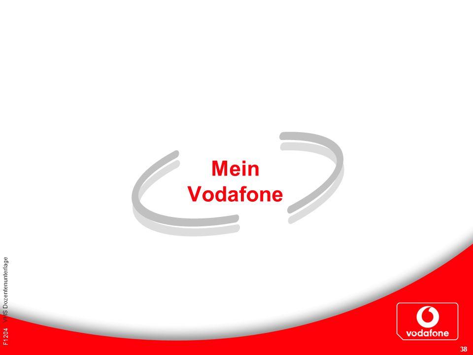 F1204 VHS Dozentenunterlage 38 Mein Vodafone