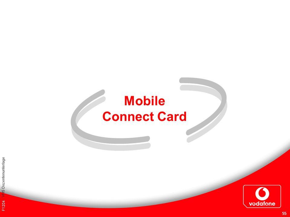 F1204 VHS Dozentenunterlage 55 Mobile Connect Card