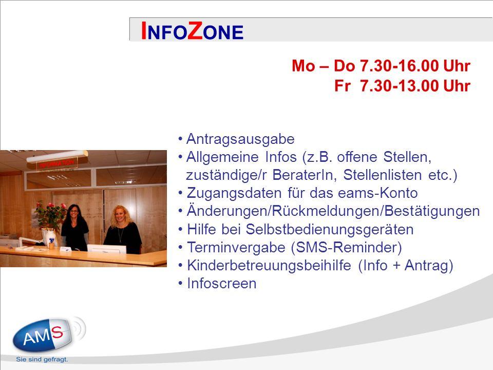 Antragsausgabe Allgemeine Infos (z.B.