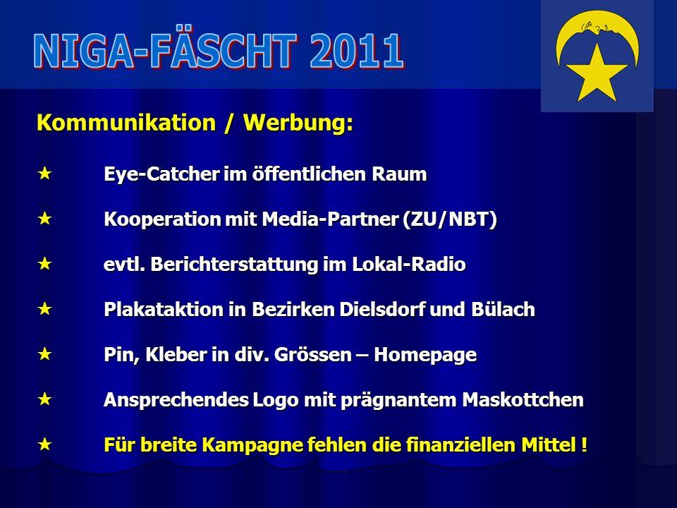 Kommunikation / Werbung: Eye-Catcher im öffentlichen Raum Eye-Catcher im öffentlichen Raum Kooperation mit Media-Partner (ZU/NBT) Kooperation mit Medi