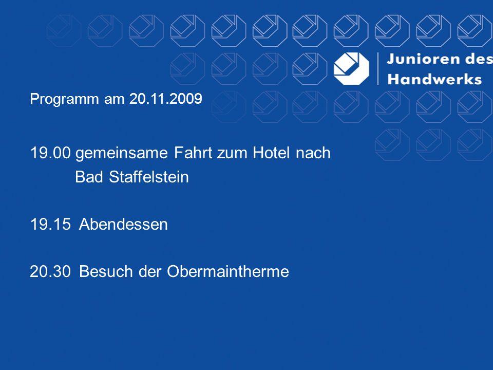Vielen Dank an unsere Förderer: Münchener Verein Versicherungsgruppe Inter Versicherung EON Bayern Vereinigte IKK Sparkassenverband Bayern Genossenschaftsverband Bayern Holzmann Verlag