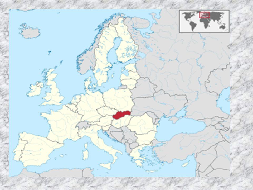 SLOWAKISCHE REPUBLIK Amtssprache : Slowakisch Hauptstadt: Bratislava Staatsform: Parlamentarische Republik Staatsoberhaupt: Präsident Ivan Gašparovič Regierungschef: Ministerpräsident Robert Fico Fläche: 49 034 km 2 Einwohnerzahl: 5,4 Mio.