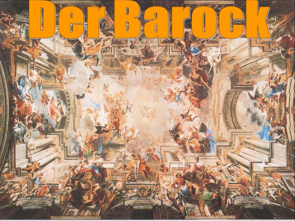 Unser Erforschungsthema: Barock, europäischer Kunststil von etwa1570 bis 1750.