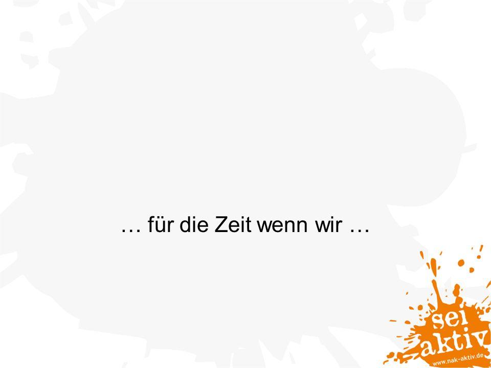 Feedback? Ab ins Gästebuch http://www.nak-aktiv.de