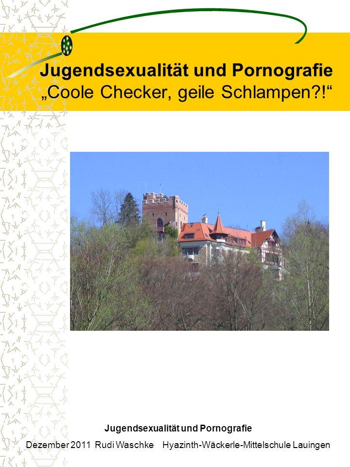 Jugendsexualität und Pornografie Coole Checker, geile Schlampen?.