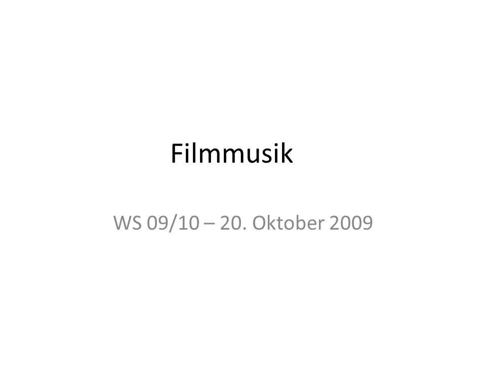 Filmton Gesamtheit aller Soundkanäle SpracheMusik Atmo – Geräusche, Laute