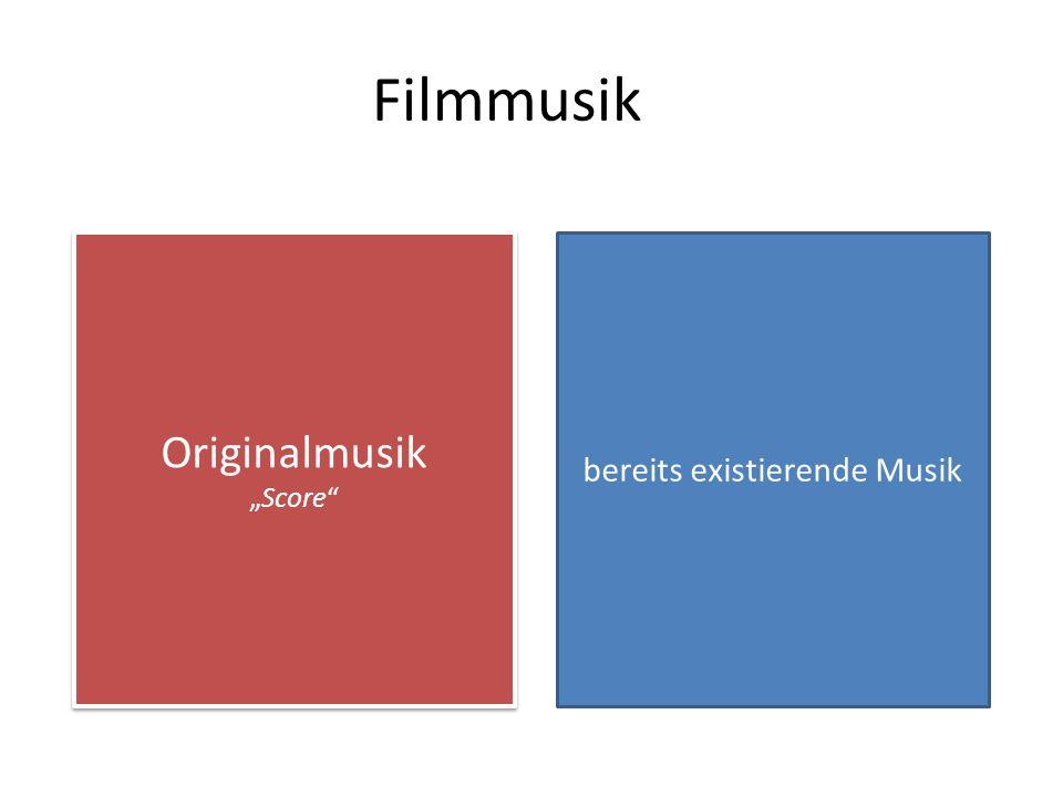 Diegese Raumzeitliche Einheit des Filmgeschehens Musik/Sprache Musik im FilmgeschehenFilmmusik Gesprochene Sprache i.