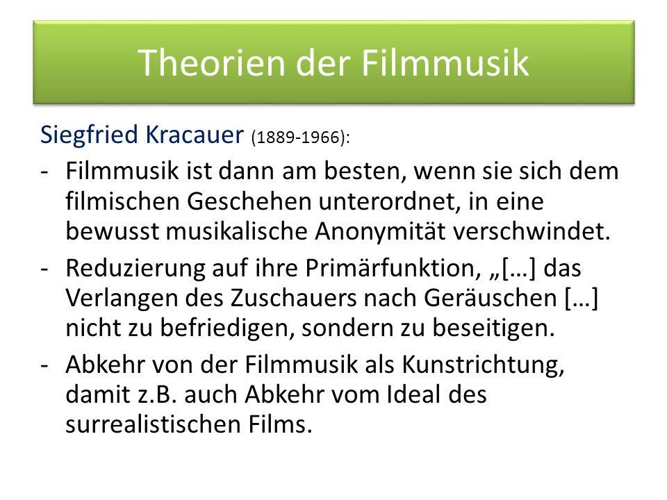 Theorien der Filmmusik Sergej M.
