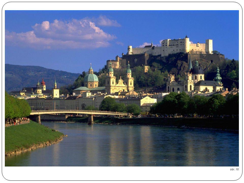 SALZBURG obr. 18 Salzburg ist die Hauptstadt des gleichnamigen Bundeslandes.