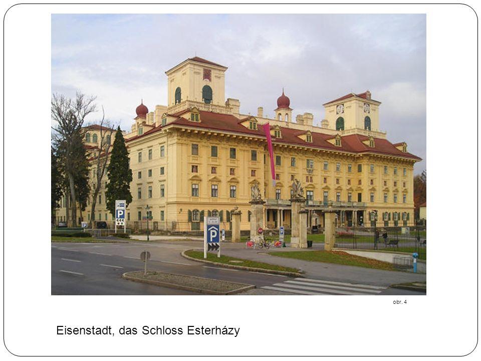 Eisenstadt, das Schloss Esterházy obr. 4