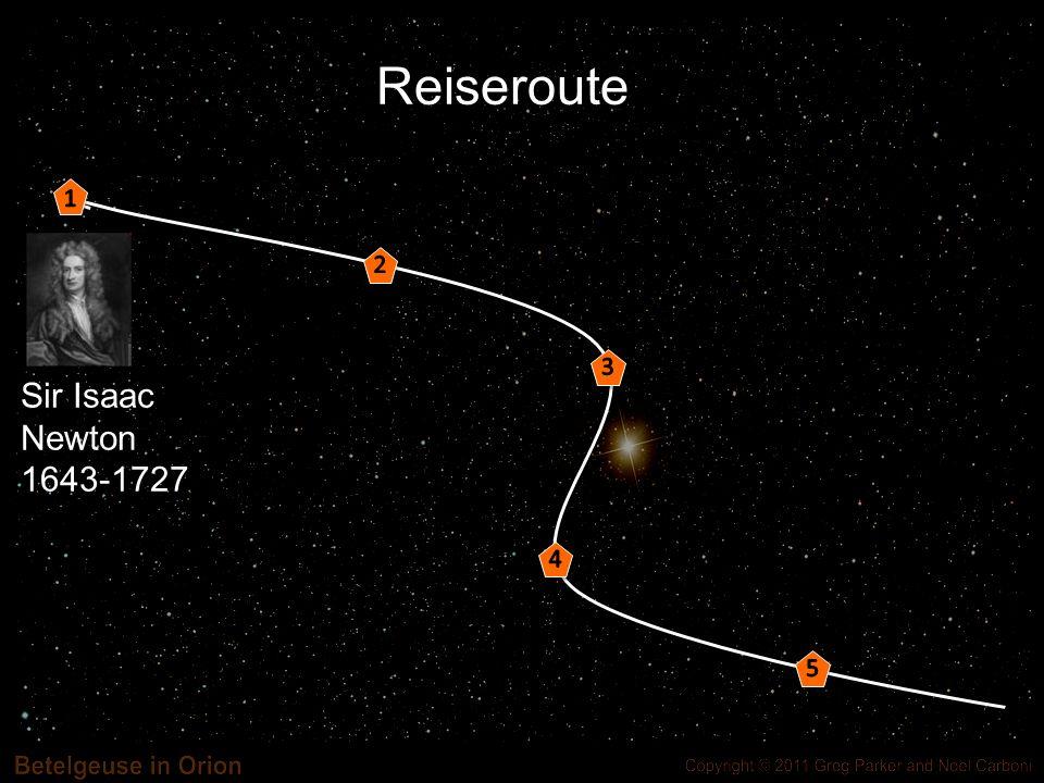 Hauptgleichung in Raum-Zeit: c = Lichtgeschwindigkeit R,Ric: messen Krümmung g:messen Abstände/Winkel T: beschreibt Materie Allgemeine Relativitätstheorie
