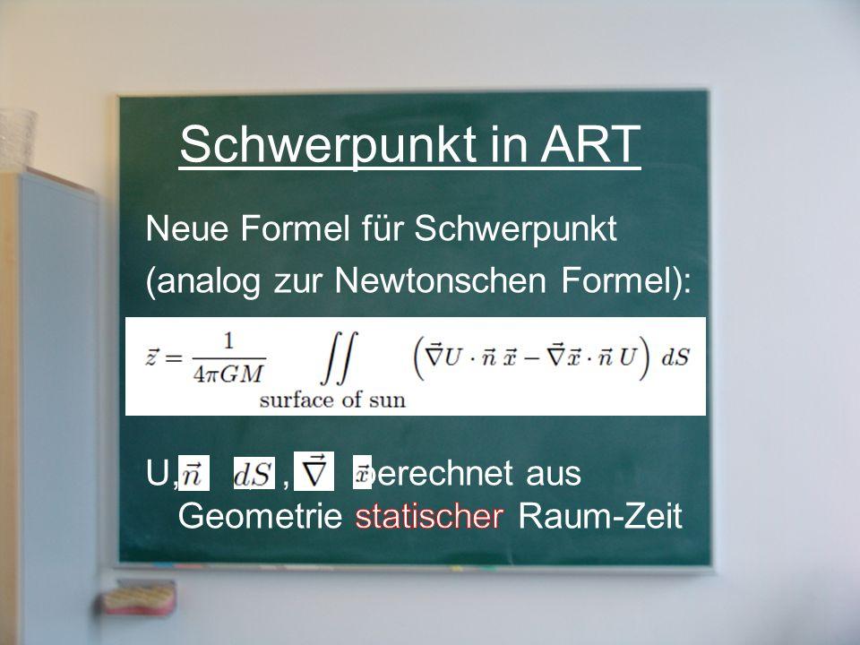 Schwerpunkt in ART