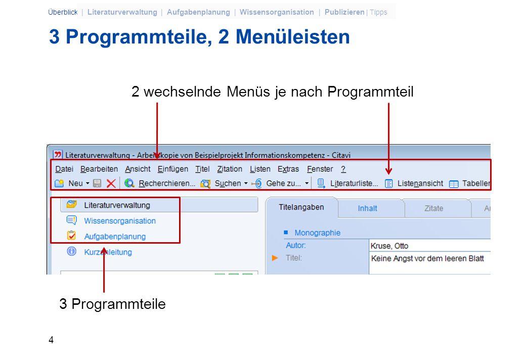 24 Überblick | Literaturverwaltung | Aufgabenplanung | Wissensorganisation | Publizieren | Tipps MLA (EBSCO) Export to Bibliographic Manager *RIS