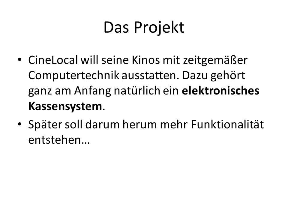 Das Projekt CineLocal will seine Kinos mit zeitgemäßer Computertechnik ausstatten.