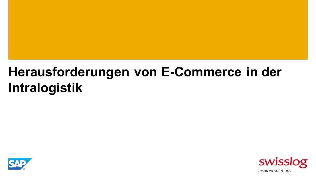 Herausforderungen von E-Commerce in der Intralogistik