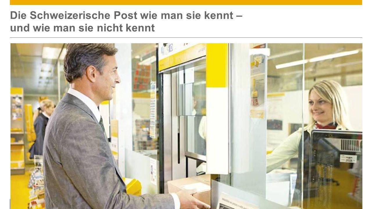 ©2013 SAP AG or an SAP affiliate company. All rights reserved.4 Die Schweizerische Post wie man sie kennt – und wie man sie nicht kennt