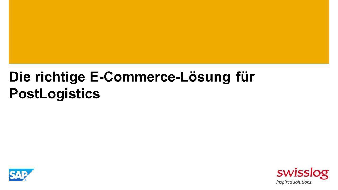 Die richtige E-Commerce-Lösung für PostLogistics