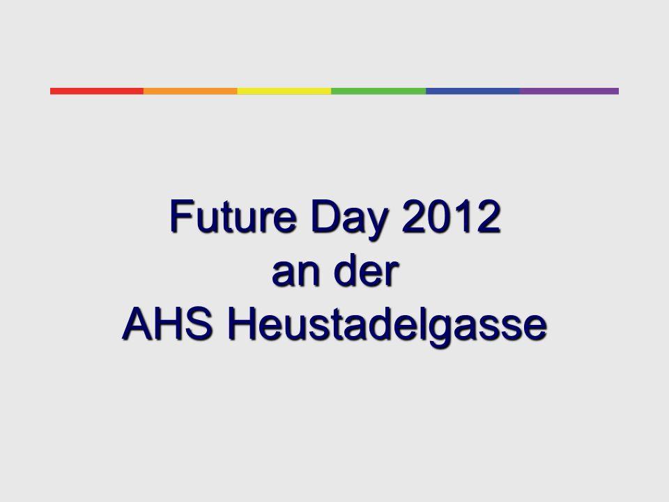 Die Unterstufe (3./4. Kl.) an der AHS Heustadelgasse Future Day 2012
