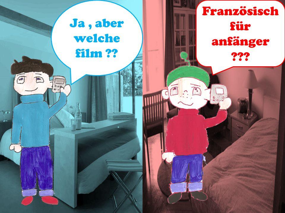 Ja . YO mann !. Lust aufs Kino . Yannick und Thomas sind Freund.