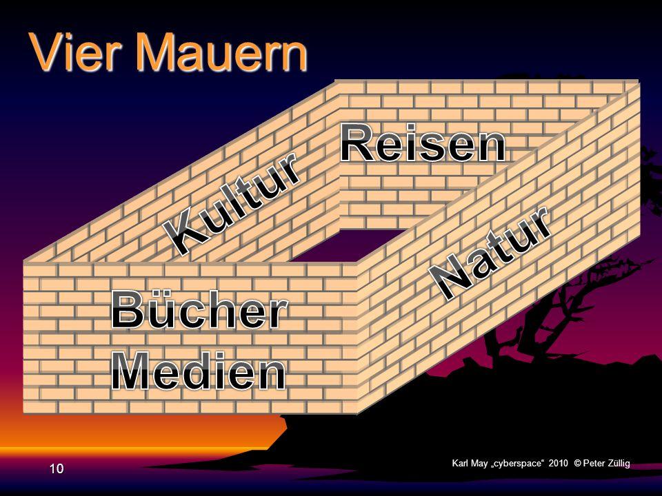Vier Mauern 9 Karl May cyberspace 2010 © Peter Züllig