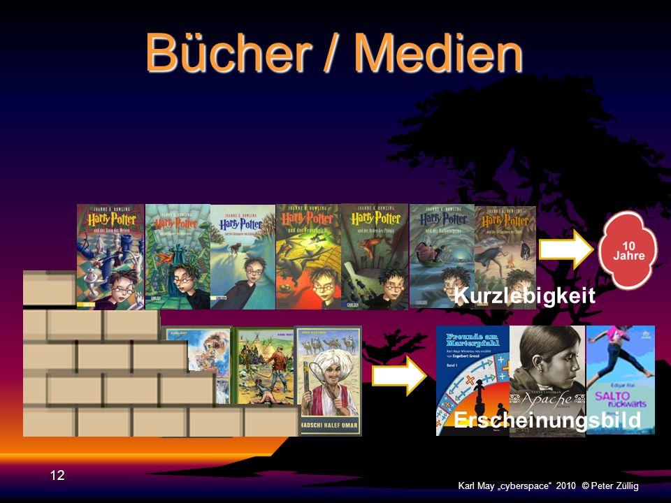 Bücher / Medien 11 Karl May cyberspace 2010 © Peter Züllig Erscheinungsbild