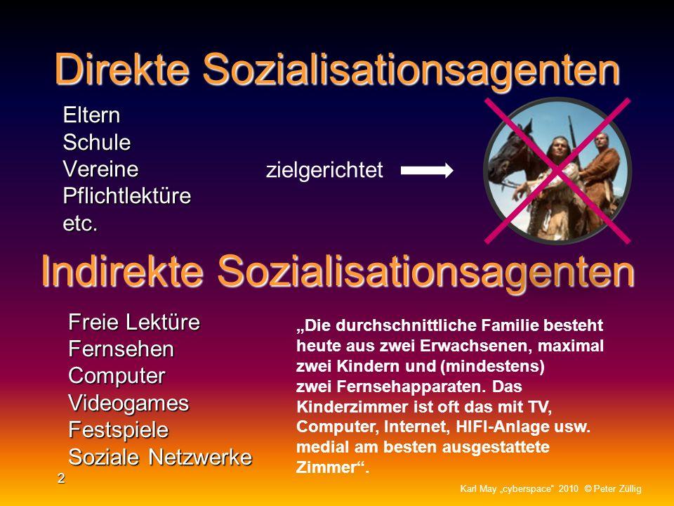 Schlüsselwort: Sozialisation Die Sozialisation wird über verschiedene Sozialisationsagenten, wie Familie, Schule, Bücher, Freunde, Medien etc. vermitt