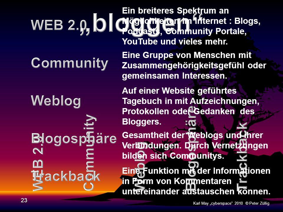 22 Karl May cyberspace 2010 © Peter Züllig