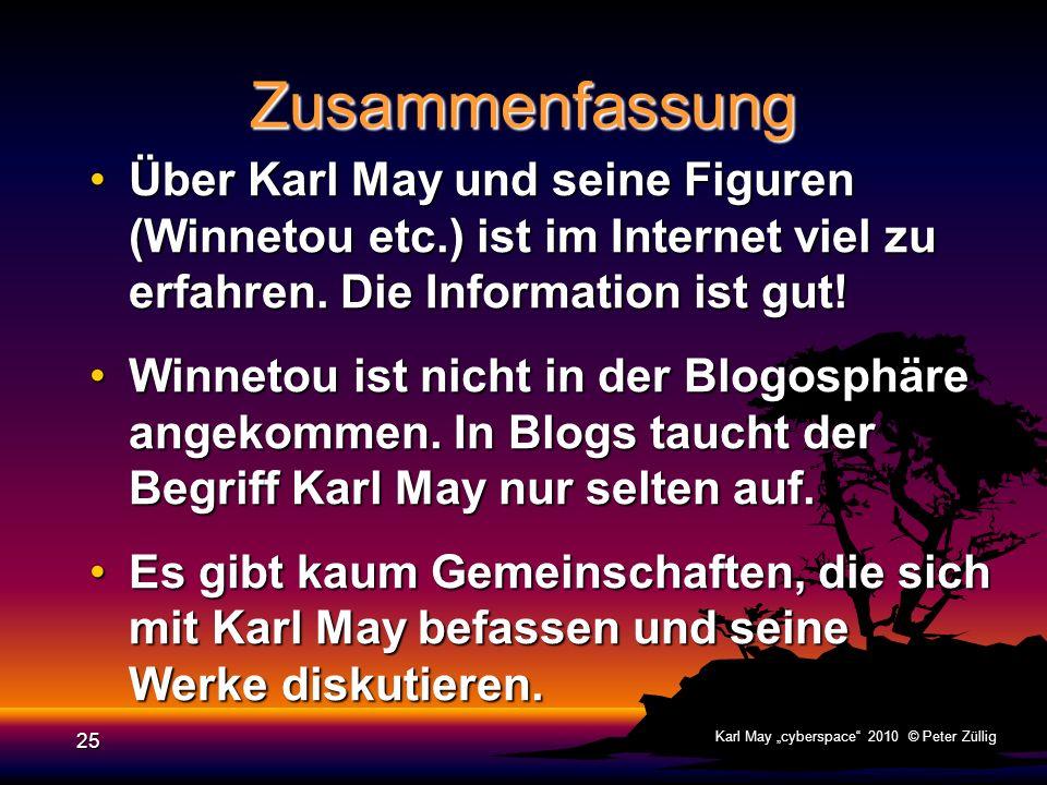 24 Karl May cyberspace 2010 © Peter Züllig Spielen Ein Computerspiel (Game) ist ein interaktives Medium; ein Programm auf einem Computer oder einer Sp