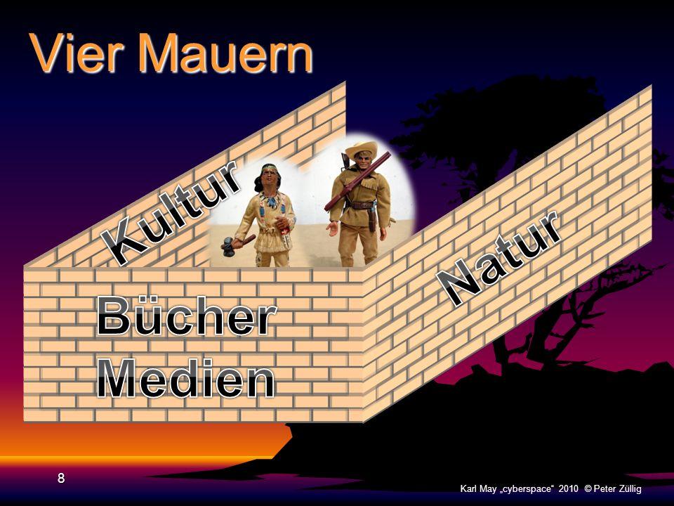 Vier Mauern 7 Karl May cyberspace 2010 © Peter Züllig