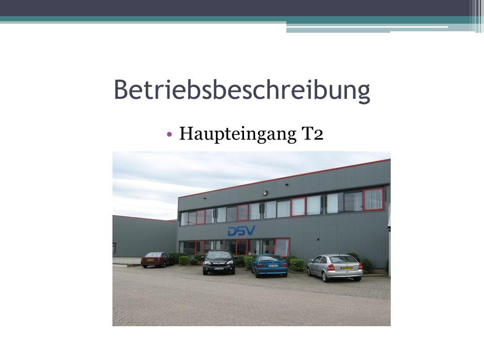 Betriebsbeschreibung Haupteingang T2