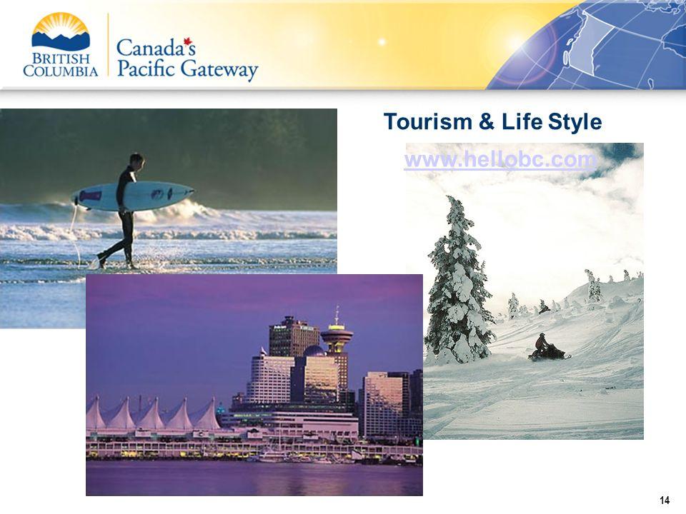 Tourism & Life Style 14 www.hellobc.com