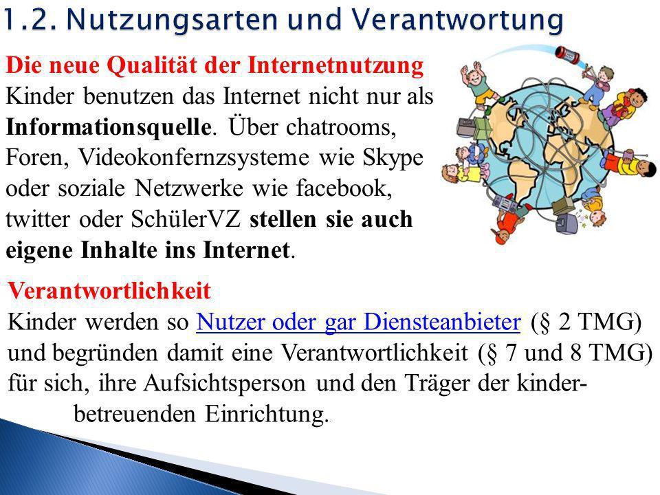 1.Internetnutzung durch Kinder 2.Schadensursachen 3.Haftung 4.Aufsichtspflicht 5.Schutzvorkehrungen