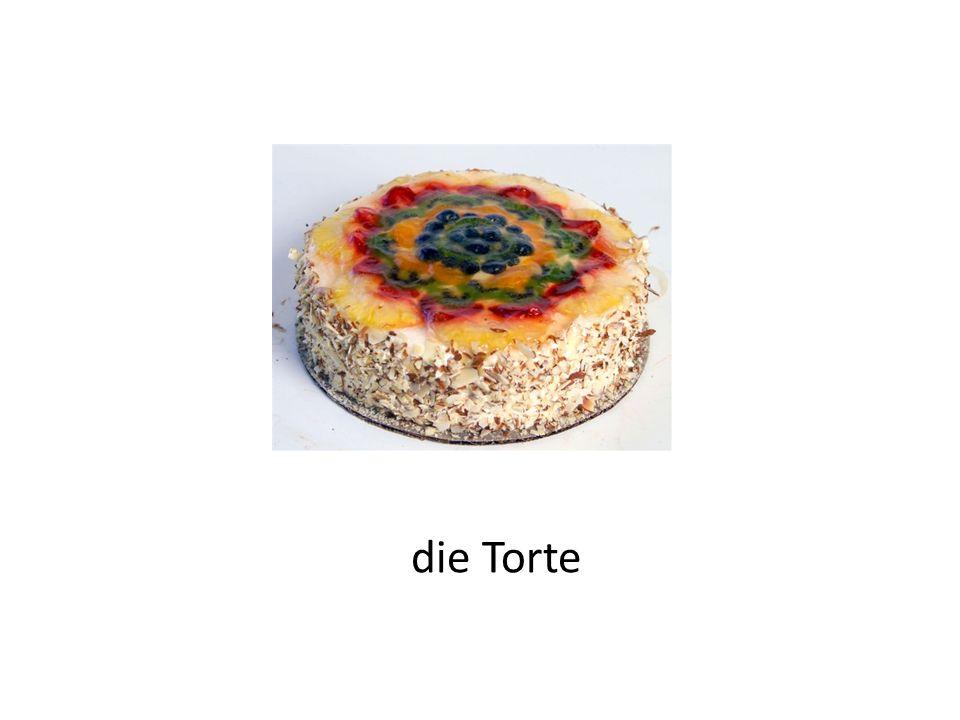 der Kuchen ein Stück Kuchen