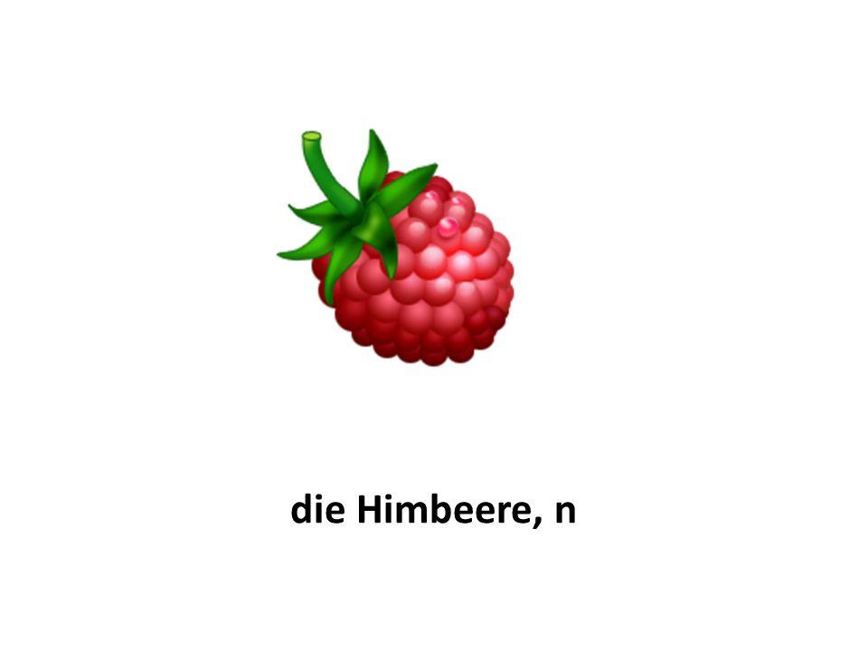 die Erdbeere, n