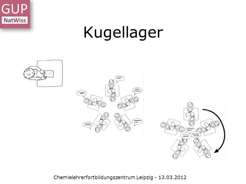 Kugellager Chemielehrerfortbildungszentrum Leipzig - 13.03.2012