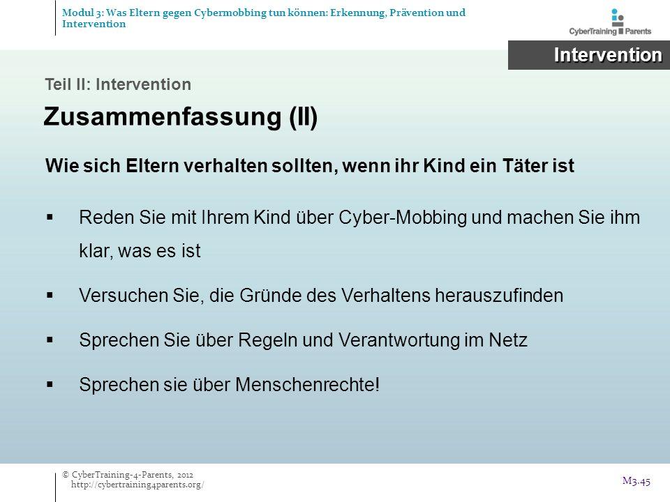 Wie sich Eltern verhalten sollten, wenn ihr Kind ein Täter ist Reden Sie mit Ihrem Kind über Cyber-Mobbing und machen Sie ihm klar, was es ist Versuch