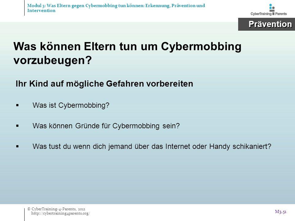 Ihr Kind auf mögliche Gefahren vorbereiten Was ist Cybermobbing? Was können Gründe für Cybermobbing sein? Was tust du wenn dich jemand über das Intern