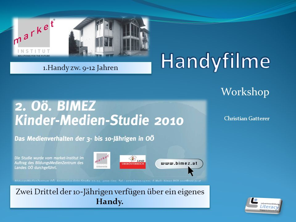 Workshop Christian Gatterer 1.Handy zw.
