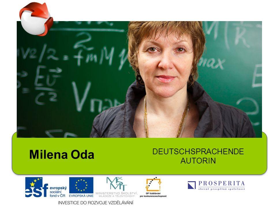 Milena Oda DEUTSCHSPRACHENDE AUTORIN
