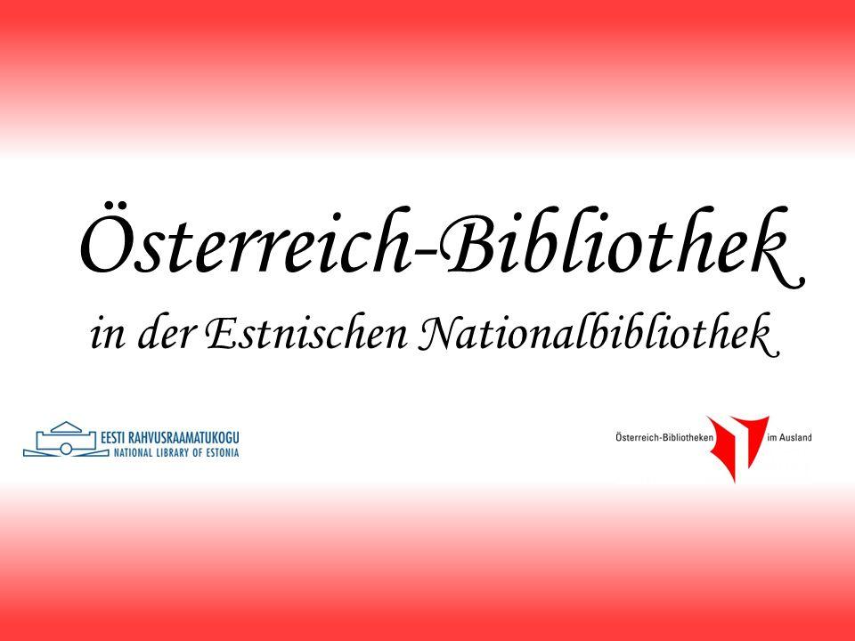 Österreich-Bibliothek in der Estnischen Nationalbibliothek