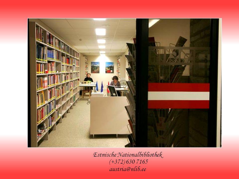 Estnische Nationalbibliothek (+372) 630 7165 austria@nlib.ee