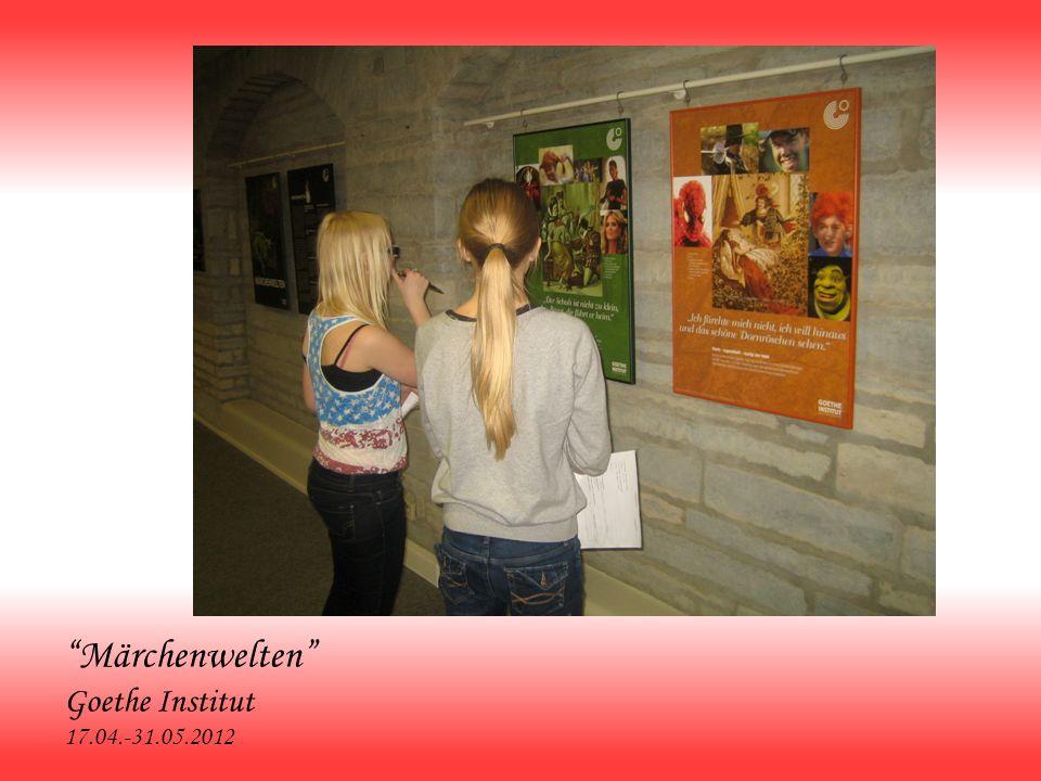 Märchenwelten Goethe Institut 17.04.-31.05.2012