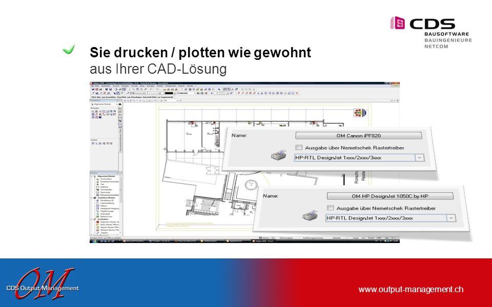www.output-management.ch … und wie funktioniert die Erfassung in der Praxis?