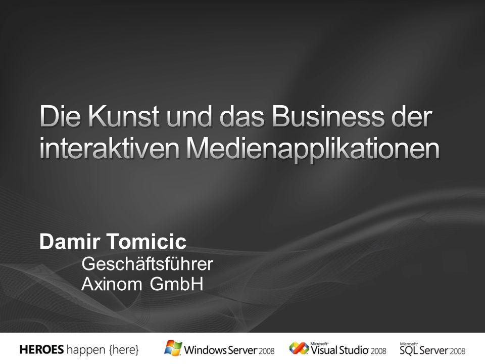 Damir Tomicic Geschäftsführer Axinom GmbH