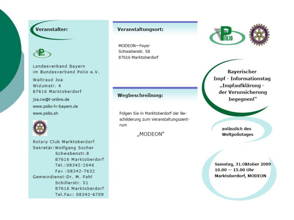 Infostand Landratsamt Ostallgäu